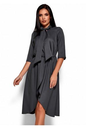Платье «Марта» серого цвета