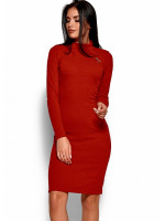 Платье «Брюс» красного цвета