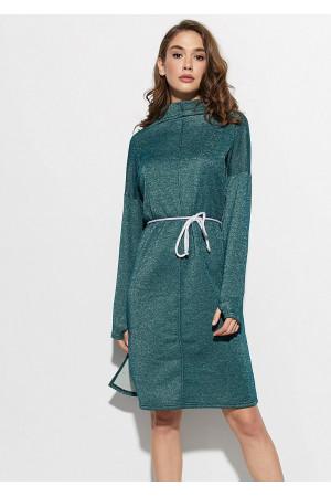 Платье «Алиса» темно-зеленого цвета