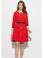 Платье «Инфинити» красного цвета