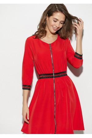 Сукня «Інфініті» червоного кольору
