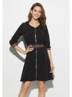 Платье «Инфинити» черного цвета
