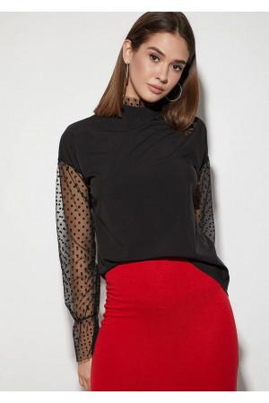 Блуза «Фенікс» чорного кольору