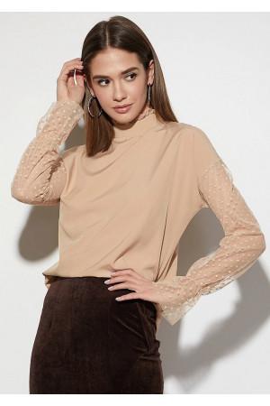 Блуза «Феникс» бежевого цвета