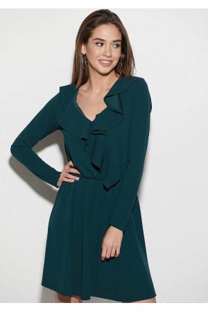 Сукня «Лотус» темно-зеленого кольору