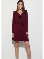 Сукня «Лотус» бордового кольору