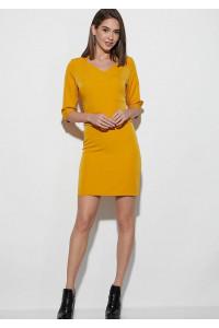 Сукня «Кайлі» гірчичного кольору