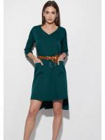Платье «Брюссель» темно-зеленого цвета
