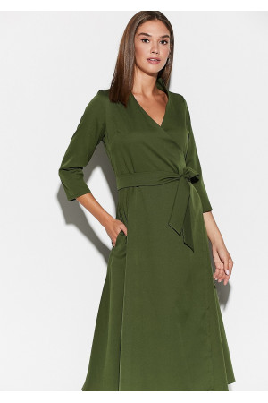 Платье «Тайра» цвета хаки