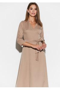 Сукня «Тайра» темно-бежевого кольору