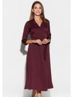 Платье «Тайра» цвета бургунди