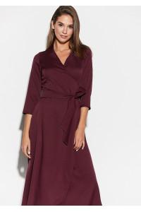 Сукня «Тайра» кольору бургунді