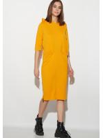 Платье «Аванш» рыжего цвета