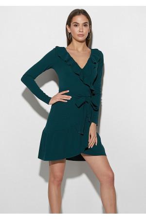 Сукня «Акура» темно-зеленого кольору