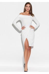Платье «Космо» белого цвета