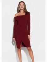 Платье «Космо» цвета марсала