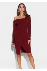 Сукня «Космо» кольору марсала