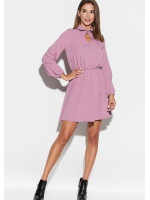 Платье «Мирта» лилового цвета