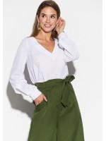 Блуза «Зетта» белого цвета