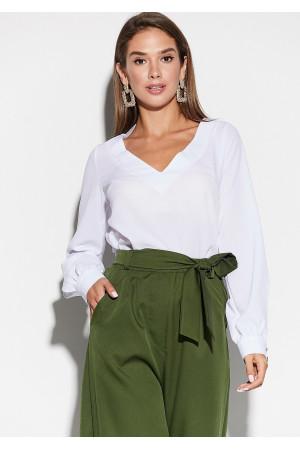 Блуза «Зетта» білого кольору