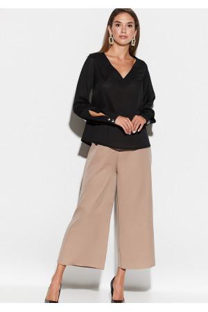 Блуза «Зетта» черного цвета