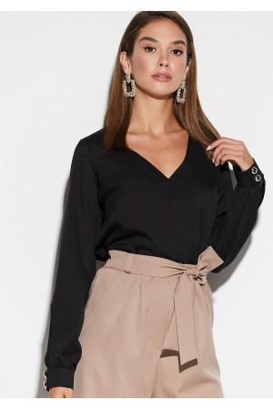 Блуза «Зетта» чорного кольору