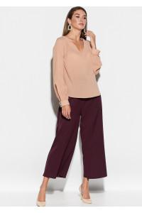 Блуза «Зетта» бежевого кольору