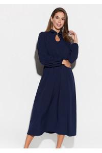 Сукня «Юста» темно-синього кольору
