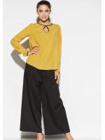Блуза «Остин» горчичного цвета