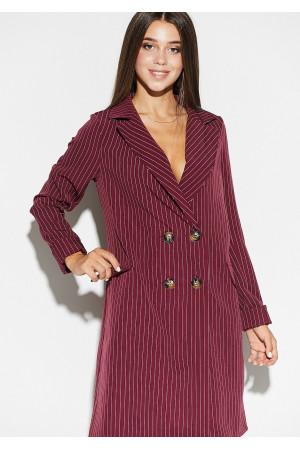 Платье «Лиман» цвета марсала