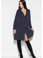 Платье «Лиман» темно-синего цвета