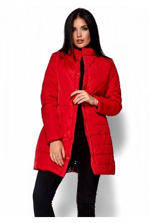 Жіноче пальто «Періс» червоного кольору