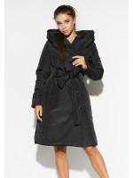 Женское пальто «Сантино» черного цвета