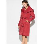 Жіноче пальто «Сантіно» червоного кольору