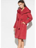 Женское пальто «Сантино» красного цвета