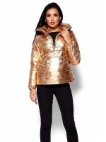 Куртка жіноча «Мішель» золотавого кольору