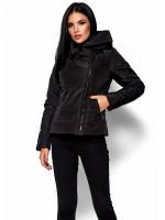 Куртка жіноча «Адріана» чорного кольору