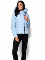 Куртка жіноча «Адріана» блакитного кольору