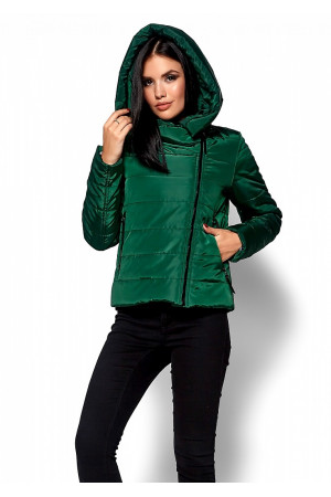 Куртка жіноча «Адріана» зеленого кольору