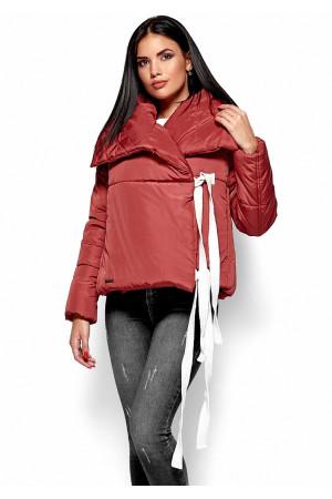 Куртка женская «Селеста» кирпичного цвета