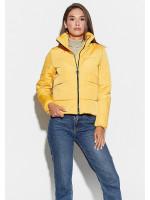 Куртка женская «Джей» желтого цвета