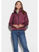 Куртка жіноча «Джей» кольору бургунді