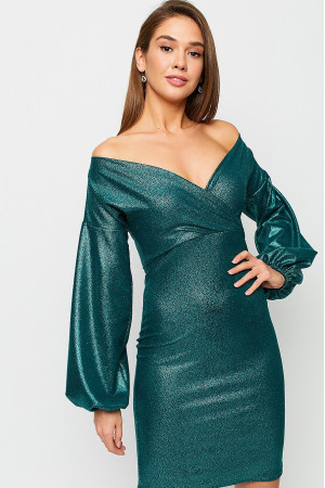 Платье «Асти» зеленого цвета