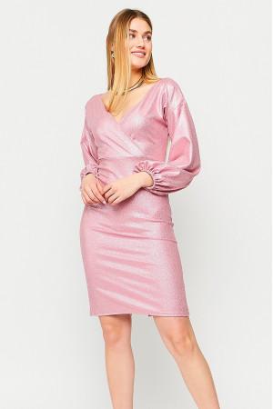 Платье «Асти» пудрового цвета