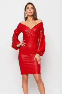 Сукня «Асті» червоного кольору