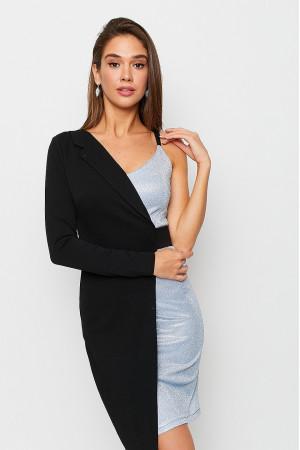 Сукня «Ліам» сріблястого кольору