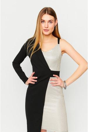 Платье «Лиам» золотистого цвета