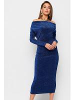Сукня «Теона» синього кольору