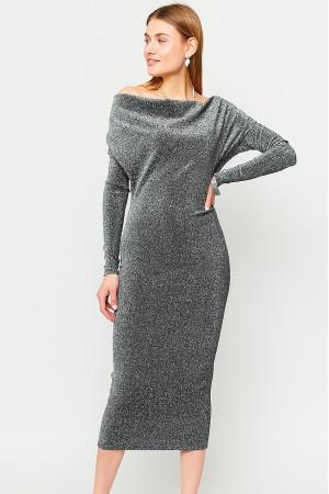 Сукня «Теона» сріблястого кольору