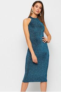 Сукня «Айворі» бірюзового кольору